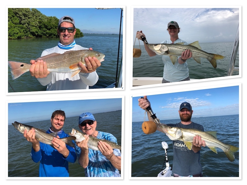Inshore fishing for Snook, Trout and Redfish