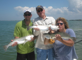 Red Hot Tampa Seatrout Fishing