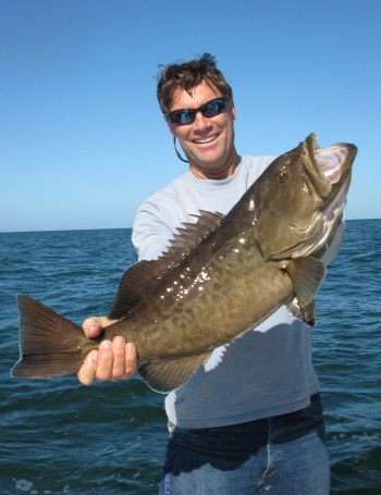 Tampa Fishing Charter for Fall Grouper